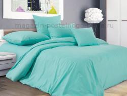 Фото Комплект постельного белья Мятное дыхание перкаль 1.5 спальный 1200П1978012