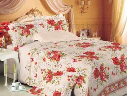 Фото Комплект постельного белья Виктория 5 перкаль евро 4200П190625