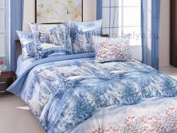 Фото Комплект постельного белья Зима 1 перкаль 1.5 спальный 1200П199091