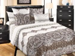 Фото Комплект постельного белья Белла 1 сатин 1.5 спальный