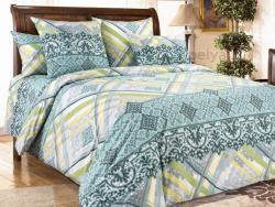 Фото Комплект постельного белья Фландрия 1 сатин 1.5 спальный