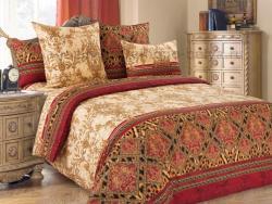 Фото Комплект постельного белья Императрица 3 сатин 2 спальный