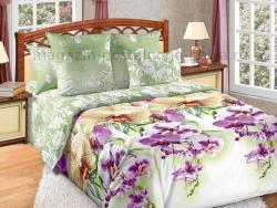 Фото Комплект постельного белья Мальдивы 1 сатин 1.5 спальный