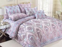 Фото Комплект постельного белья Роспись 1 сатин 1.5 спальный