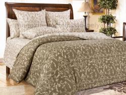 Фото Комплект постельного белья Вирджиния 2 сатин 1.5 спальный