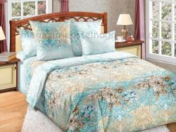 Фото Комплект постельного белья Вивьен 1 сатин 1.5 спальный