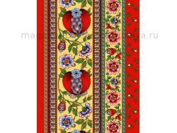 Вафельное полотно 50 см Гранатовый браслет фото