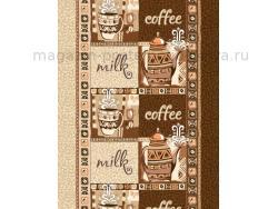 Вафельное полотно 50 см Кофе фото