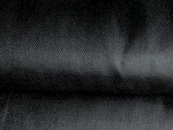 Ткань диагональ 85 см черная фото