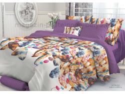 Комплект постельного белья 1.5 спальный Verossa Перкаль 541-2009-70 Indigo фото