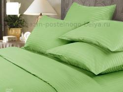 Фото Комплект постельного белья Verossa Сатин-страйп семейный 565-7003 Shade