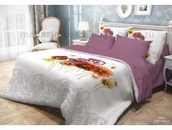 Фото КПБ Волшебная ночь 2 спальный на резинке 518-1001-70 Fialki