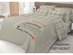 Фото КПБ Волшебная ночь 2 спальный на резинке 518-1007-70 Happiness