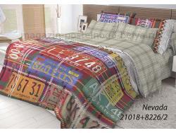 Фото КПБ Волшебная ночь 2 спальный на резинке 518-1018-70 Nevada
