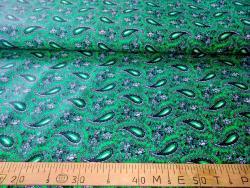 Ткань  бязь 150 Огурцы на зелёном фото