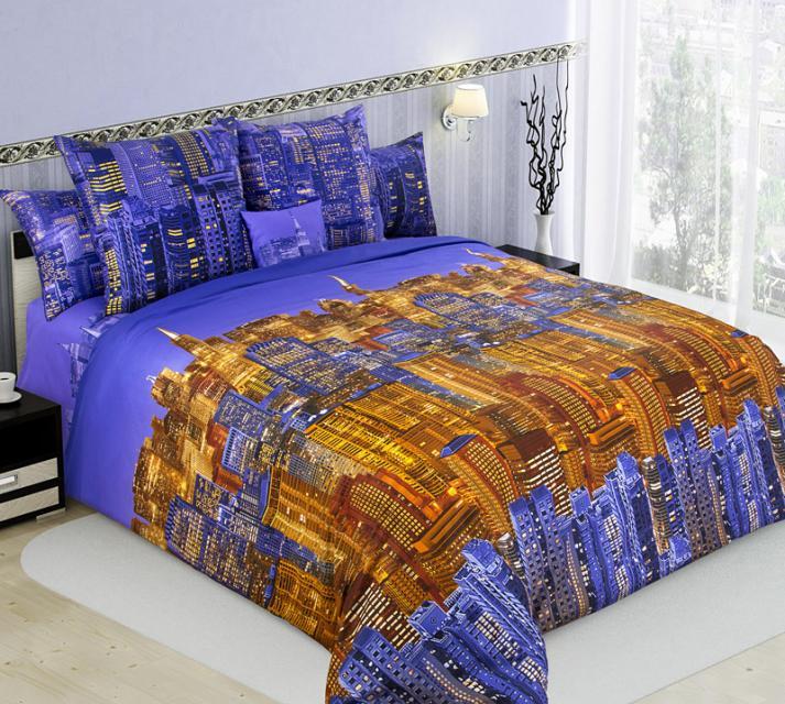 Ткань сатин 220 набивной Панорама 1 компаньон фото