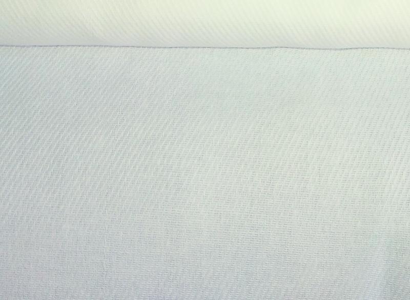 Ткань диагональ 85 см белая фото